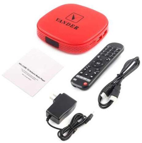 Sieciowy odtwarzacz multimedialny HD 1080P TV BOX