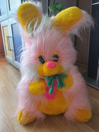 Розовый заец, большой
