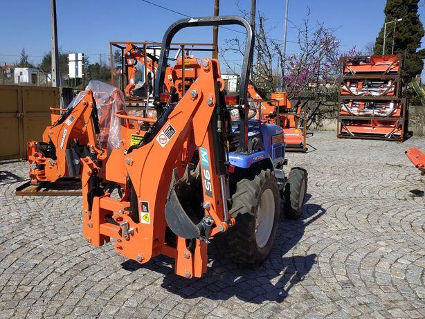 Retro escavadora Para Micro Trator M95 (tractores 15 a 25CV)