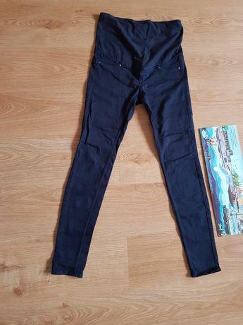 Spodnie ciążowe rozmiar 38 H&M granatowe