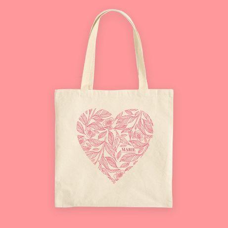 Еко-сумка «Серце» від Marie Fresh Cosmetics