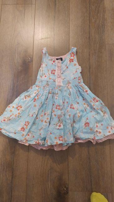 Zestaw sukienek 104-110