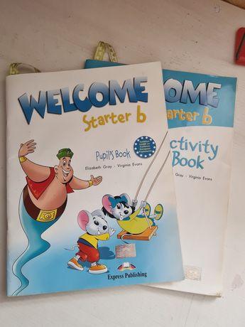 Учебник по английскому Welcome starter b