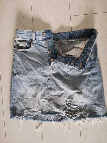 Spódnica jeansowa H&M roz 36