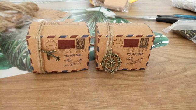 Pudełeczka na prezent dla gości - wesele 100 sztuk