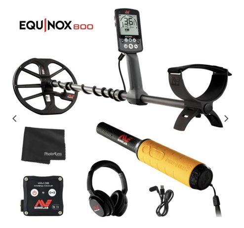 Minelab Equinox 800 + Pinpointer - Detector Metais