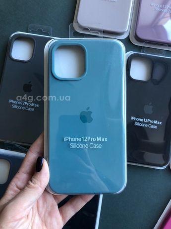 Чехол Silicone Case для iPhone 12/12 Pro/12 Mini / 12 Pro Max