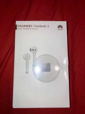Huawei Freebuds 3 - nowe, białe