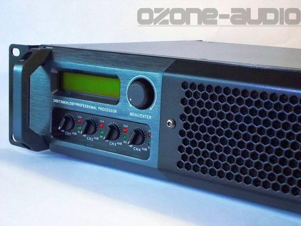 Wzmacniacz , końcówka mocy z DSP 4X1300W , estradowy, nagłośnienie