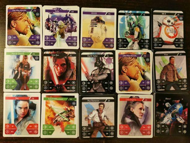 Karty Star Wars Kaufland - Zamienię na brakujące