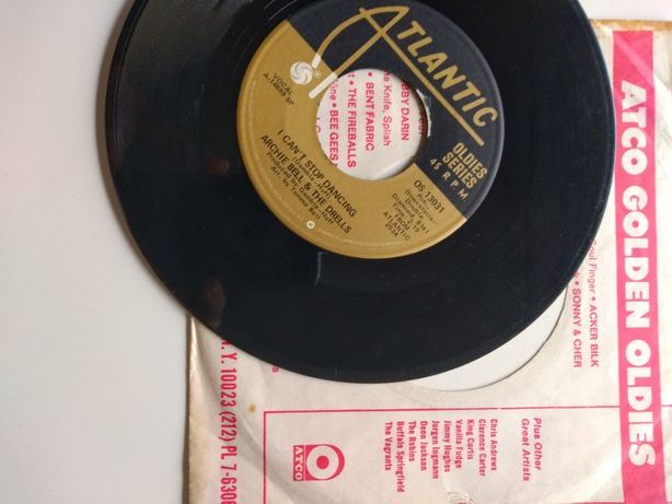 Archie Bell & The Drells - Thighten up / I can't stop... singiel winyl