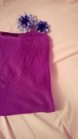 ciepły fioletowy sweter next