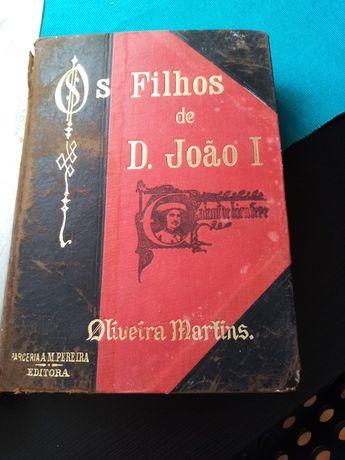 Os filhos de D João I. De Oliveira Martins