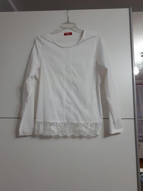 Biala bluzka M