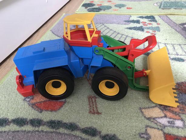 Грейдер, трактор, игрушка Wader