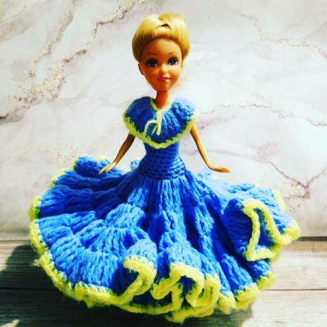 Винтажное платье хенд Мей