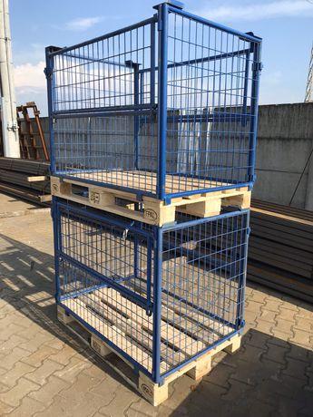 Gitterbox Nadstawka pojemnik na euro paletę