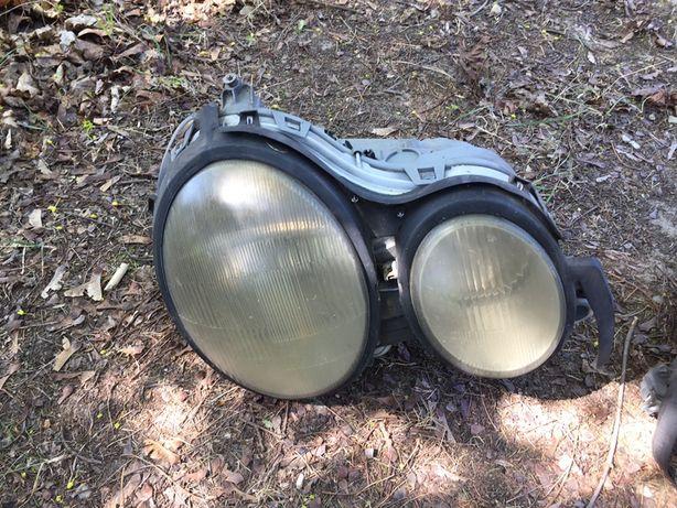 Reflektor lewy prawy Mercedes w210