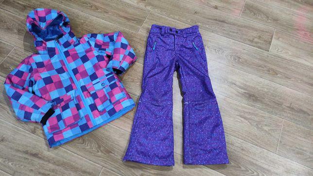 Термо-Комплект Лыжный штаны, куртка, Crane Softshell как reima