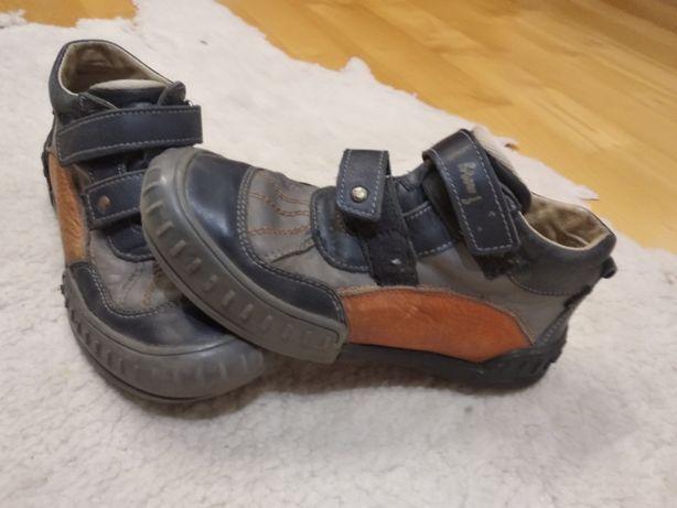 Buty polskie, skóra r. 34