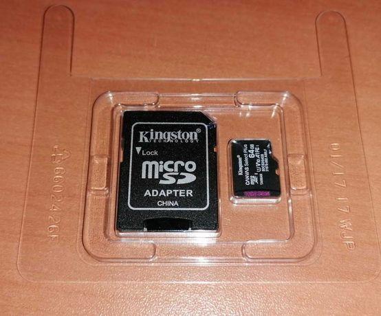 Cartão Micro SD Kingston 64 GB - c/garantia