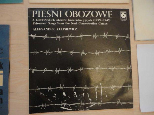"""Płyta winylowa LP Aleksander Kulisiewicz """"Pieśni obozowe"""""""