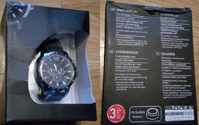 Zegarek 5 bar podswietlane wskazowki