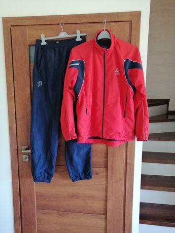 Zestaw Odlo kurtka Bjorn Daehlie spodnie r. M bieganie turystyka rower