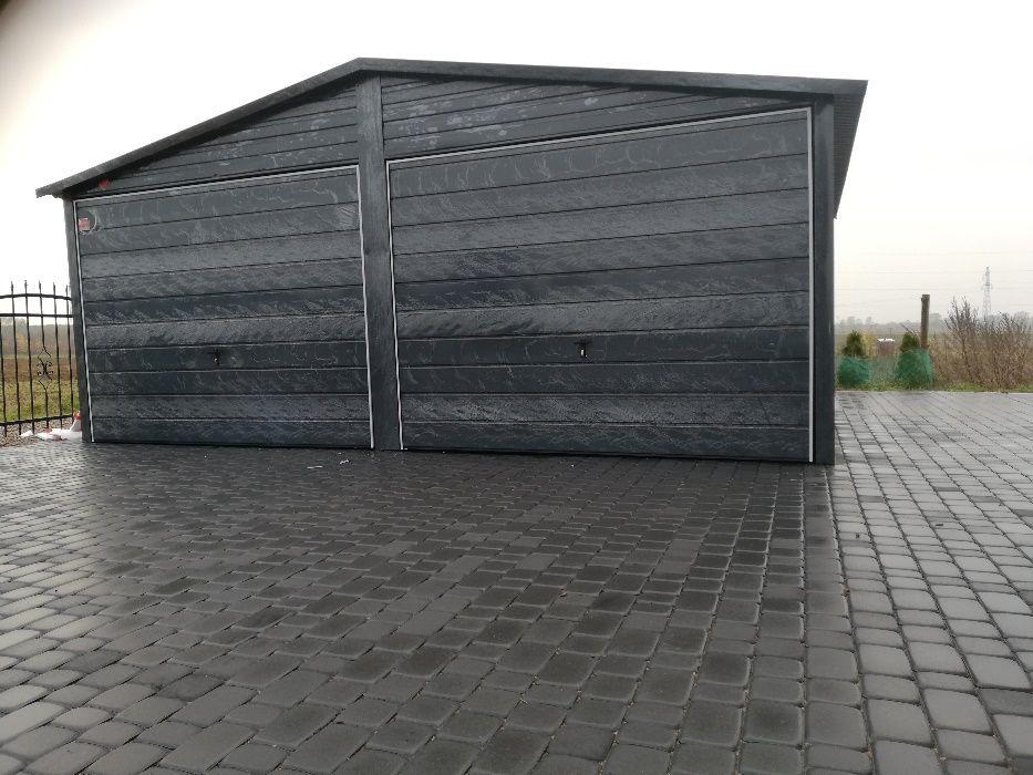 Garaż 6x5 brąz antracyt ,garaż blaszany ,domek ogrodowy ,wiata