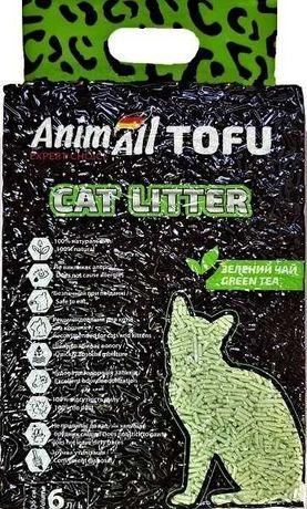 AnimAll Tofu Наполнитель соевый с ароматоми 6л (2.6 кг)