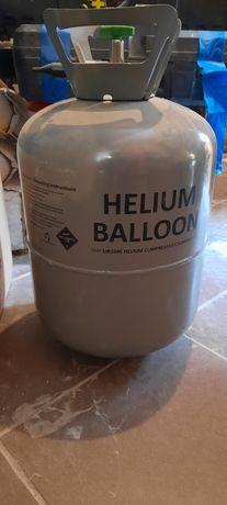 Butla z Hellem i końcówką do napełniania balonow