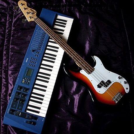 Nauka gry - pianino, gitara basowa (stacjonarnie/online)