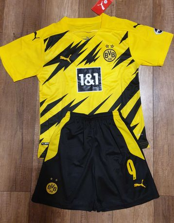 Strój Piłkarski Borussia Dortmund,  Haaland roz. 146 cm