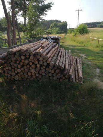 Stemple drewniane