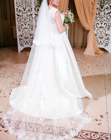Продам оригинальное невенчанное свадебное платье NAVIBLUE BRIDAL (США)