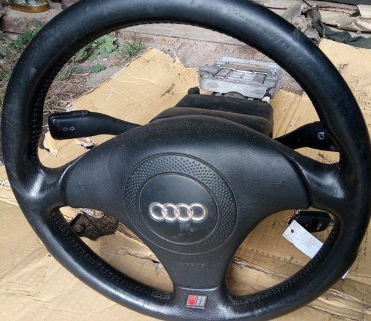 Подрулевой Переключатель замок зажигания Гитара Ауди А6 С5 Audi a6 c5