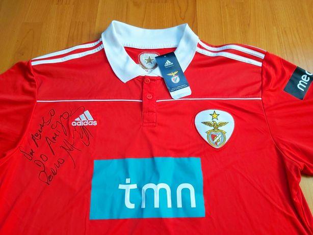Camisola Autografada do Sport Lisboa e Benfica (SLB)