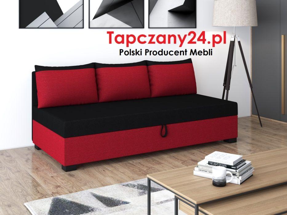Łóżko+ materac +pojemnik Tapczan młodzieżowy jednoosobowy PROMOCJA