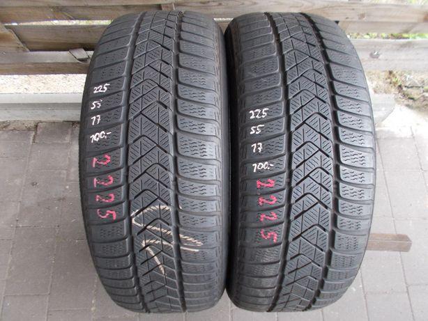 2x Pirelli 225/55/17