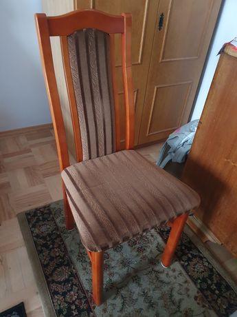 Krzesło, drewniane, stan bardzo dobry.