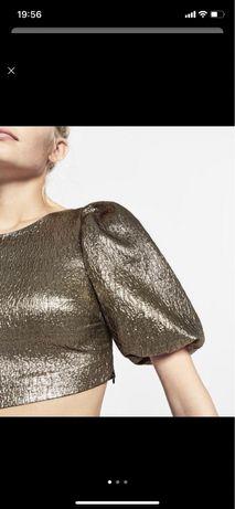 Топ/ нарядный верх / блузка Zara