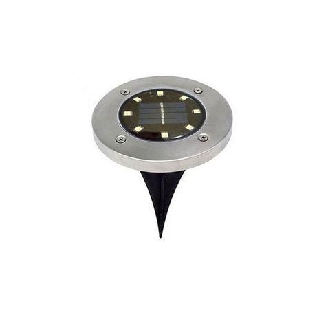 Lampki solarne ogrodowe 8 LED barwa zimna / biała