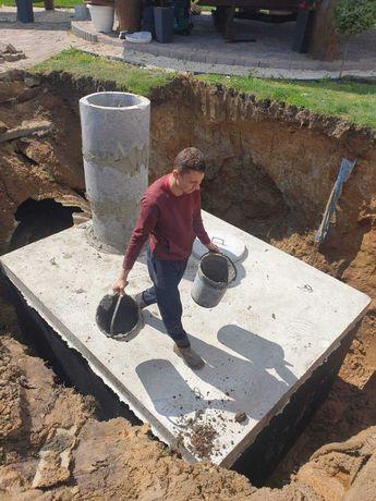 Szambo Betonowe 9000l Zbiornik Betonowy ścieki wodę na gnojówkę