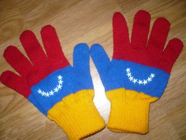 Перчатки вязаные женские взрослые