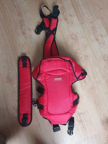 Nosidło womar czerwone jak nowe!!!