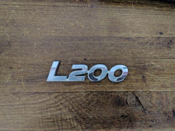 Logótipos originais Mitsubishi L200