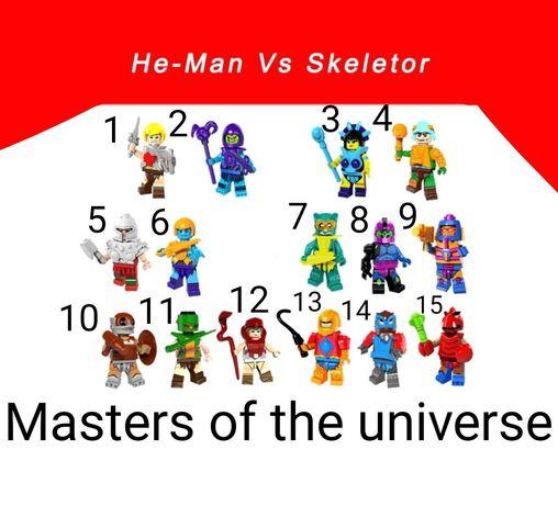 Nowe figurki Masters of universe w pełni kompatybilne z klockami lego