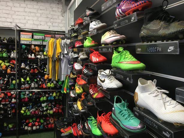 Футбольная обувь|Бутсы|Cороконожки|Залки|Бампы|Nike|Adidas