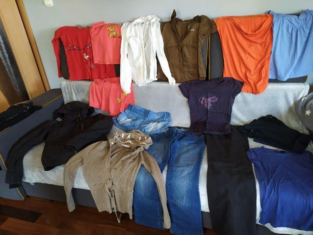 Duża paka ubrań dla dziewczyny S/M- tanie markowe
