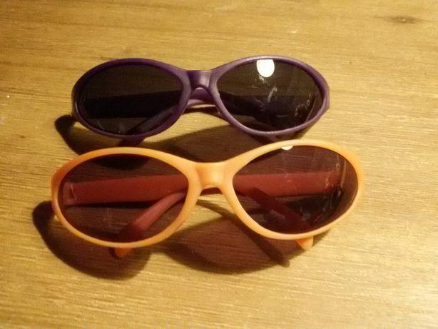 Okulary przeciwsłoneczne pomarańczowe oprawki i druga para gratis
